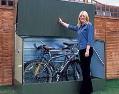 Casetas para bicicletas for Caseta guarda bicicletas