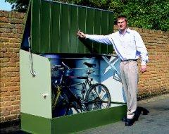 Casetas para bicicletas unidades de almacenamiento titan for Casetas para guardar bicicletas
